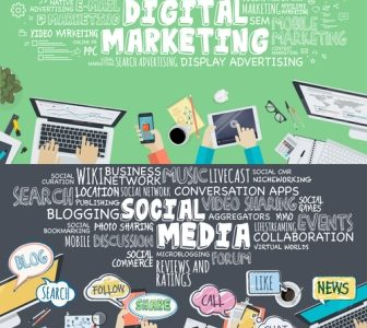 Social, web ed email marketing